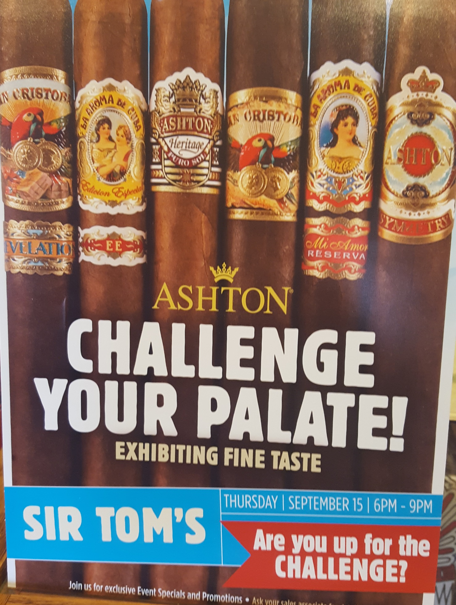 Challenge Your Palate